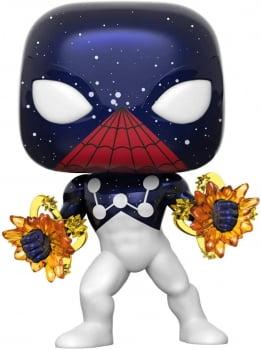 Funko Pop Homem Aranha Capitão Universo 614 Spider-Man