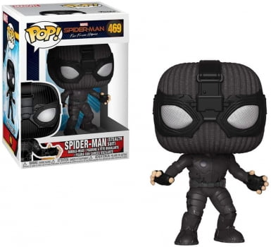 Funko Pop Homem Aranha Stealth Suit 469 - Spider-Man Far From Home