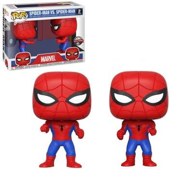 Funko Pop Homem Aranha vs Homem Aranha 2-Pack
