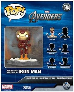 Funko Pop Homem de Ferro 584 Deluxe - Avengers Assemble Iron Man