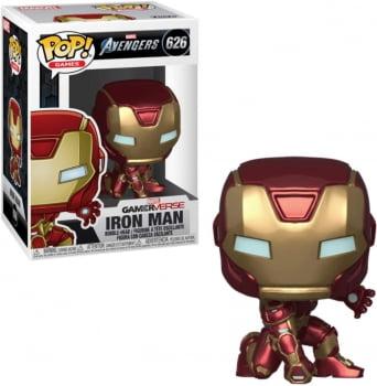 Funko Pop Homem de Ferro 626 - Gamerverse Vingadores Iron Man