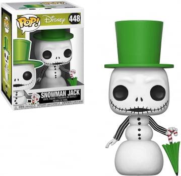 Funko Pop Jack Skellington Snowman 448 O Estranho Mundo de Jack