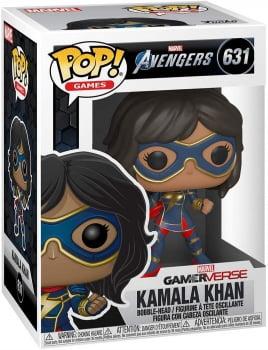 Funko Pop Kamala Khan 631 Gamerverse Vingadores