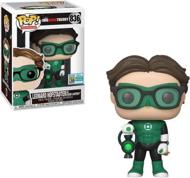 Funko Pop Leonard Lanterna Verde 836 SDCC Big Bang Theory
