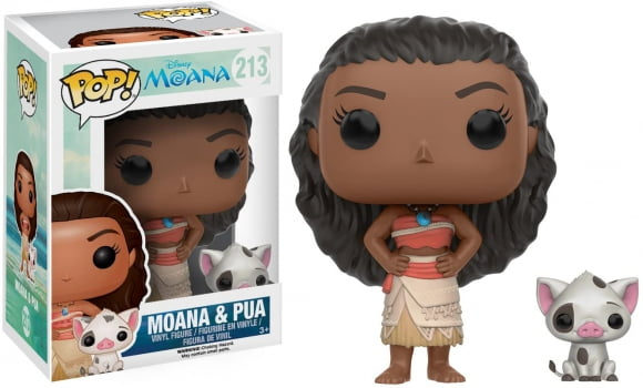 Funko Pop Moana and Pua 213 Disney
