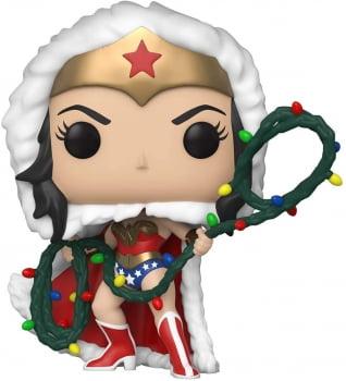 Funko Pop Muher Maravilha Holiday Wonder Woman 354 DC Heroes