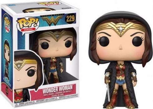 Funko Pop Mulher Maravilha 229 Wonder Woman (Cloaked)