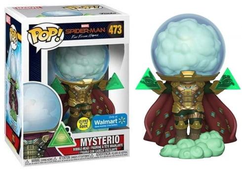 Funko Pop Mysterio 473 Glows In The Dark - Homem Aranha Longe de Casa