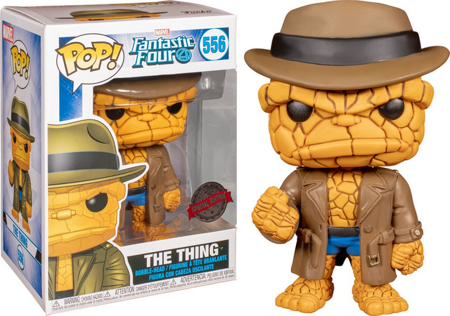 Funko Pop Quarteto Fantástico O Coisa 556 The Thing Disguised