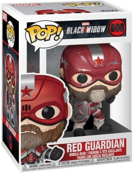 Funko Pop Red Guardian 608 - Black Widow