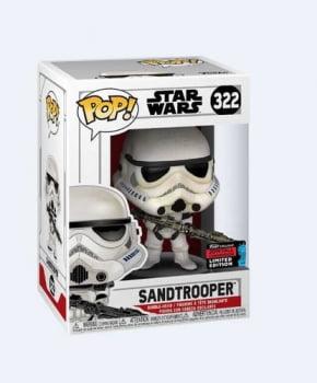 Funko Pop Sandtrooper 322 NYCC 2019 - Star Wars