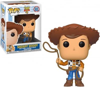 Funko Pop Sheriff Woody 522 Toy Story 4