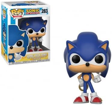 Funko Pop Sonic w Ring 283 - Sonic The Hedgehog
