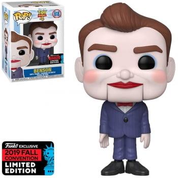 Funko Pop Toy Story 4 Benson 618 NYCC 2019