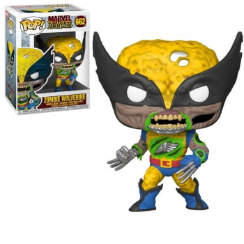 Funko Pop Zombie Wolverine 662 Marvel Zombies