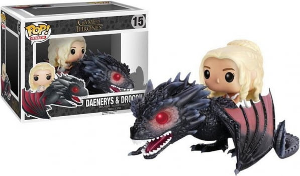 Funko Pop Daenerys Targaryen And Drogon 15 Game Of Thrones