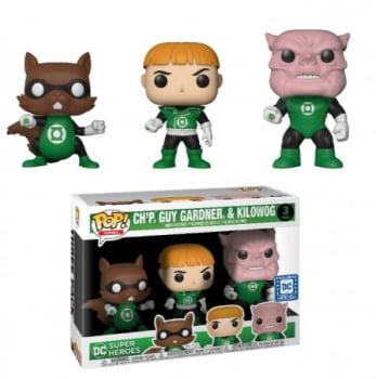 Green Lantern - Chp, Guy Gardner and Kilowog Funko Pop 3-Pack