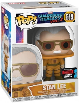 Funko Pop Stan Lee Astronaut 519 NYCC Guardians Of The Galaxy Vol 2