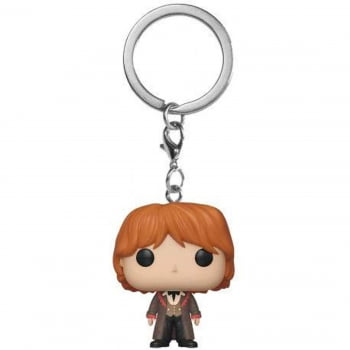 Harry Potter - Chaveiro Ron Weasley Yule Ball Funko Pocket Keychain