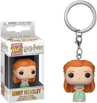 Chaveiro Funko Pop Ginny Gina Weasley Yule Ball Harry Potter