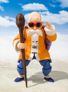 Dragon Ball - Master Roshi (Mestre Kame) S.H. Figuarts - Bandai