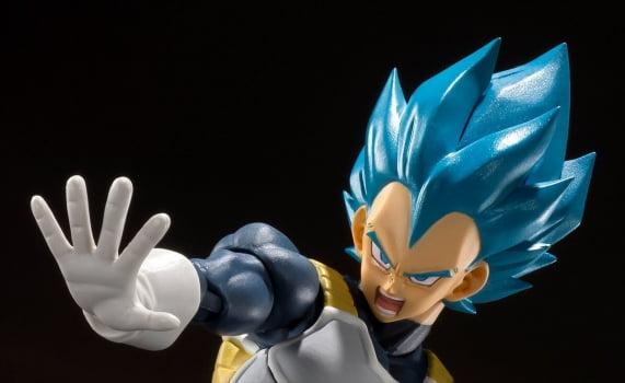 Dragon Ball Super - Super Saiyan God Super Saiyan Vegeta - S.H. Figuarts - Bandai