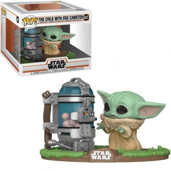 Funko Pop Baby Yoda 407 The Child Egg Canister Star Wars The Mandalorian
