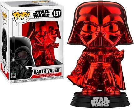 Funko Pop Darth Vader 157 Red Chrome - Star Wars
