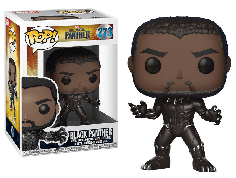 Funko Pop Pantera Negra 273 - Black Panther