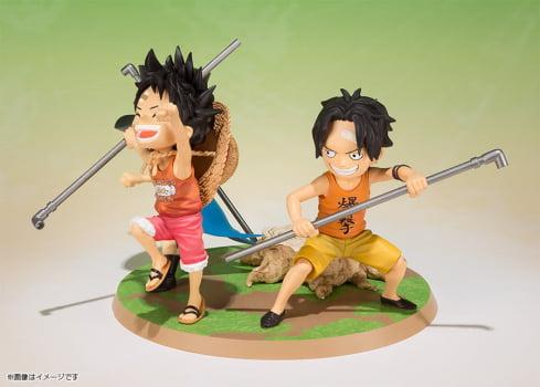 One Piece - Luffy & Ace & Sabo - FiguartsZERO - Bandai