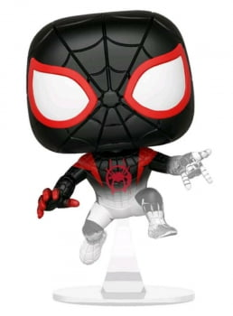Funko Pop Miles Morales Homem Aranha 402 Into The Spiderverse