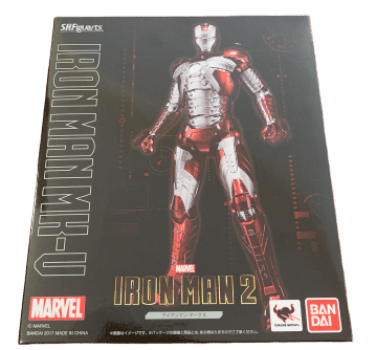 Iron Man Mark 5 - S.H. Figuarts Bandai - Homem de Ferro Mark V