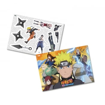 Kit Decorativo - Naruto Shippuden - Festcolor
