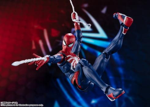 S.H. Figuarts Homem Aranha Spider-Man Advanced Suit PS4 Marvel Bandai