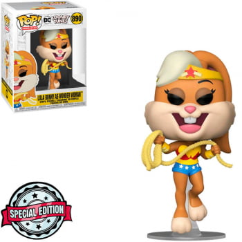 Funko Pop Lola Bunny Mulher Maravilha 890 Looney Tunes