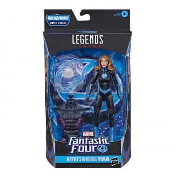 Marvel Legends Quarteto Fantástico Mulher Invisível - Fantastic Four BAF Super Skrull