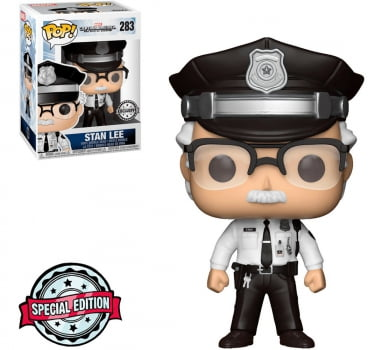 Marvel - Stan Lee Security Guard 283 Exclusive Funko Pop