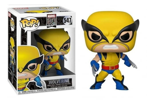 Marvel 80 Years - Wolverine First Appearance 547 Funko Pop