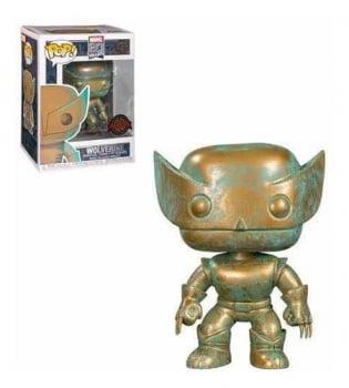Marvel 80 Years - Wolverine Patina 496 Funko Pop