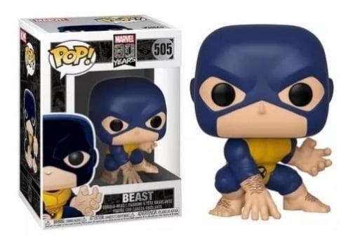 Marvel 80 Years - X-Men Beast (Fera) #505 Funko Pop