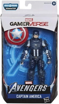Marvel Legends Capitão América Wave Gamerverse BAF Abominável