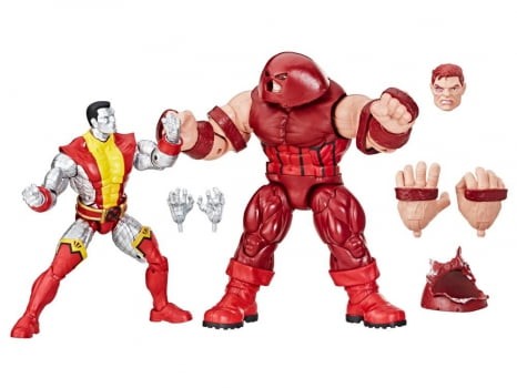 Marvel Legends Colossus and Juggernaut Marvel 80 Years