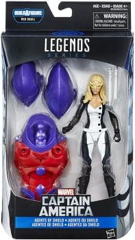 Marvel Legends Harpia Mockingbird - Wave Red Skull