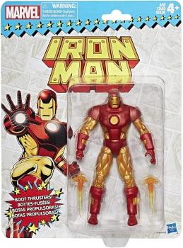 Marvel Legends Homem de Ferro Iron Man Retro Vintage