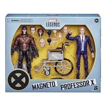 Marvel Legends Magneto e Professor X - X-Men