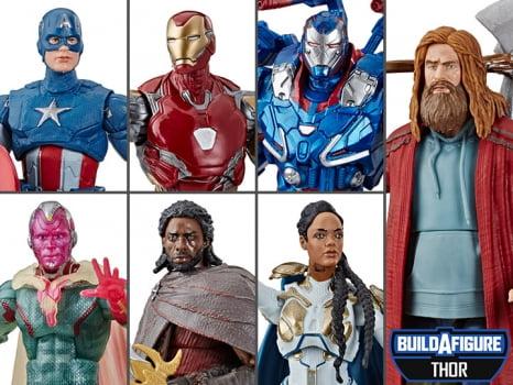 Marvel Legends Vingadores Ultimato Wave Bro Thor BAF