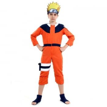 Naruto - Fantasia de Luxo - Naruto Uzumaki - Sulamericana