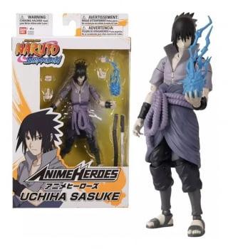 Naruto Shippuden - Sasuke Uchiha - Anime Heroes - Bandai