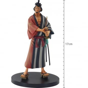 One Piece - Kin'emon - DXF The Grandline Men Wanokuni - Bandai Banpresto