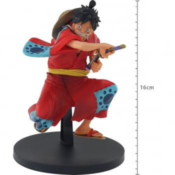 One Piece - Monkey D. Luffy Wanokuni - King of Artist - Bandai Banpresto